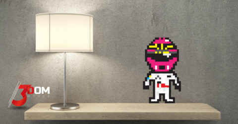 Pixel Art Wall Stickers – F1
