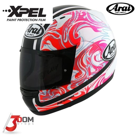 Paint Protection VentureShield Arai Viper GP | 3Dom Wraps
