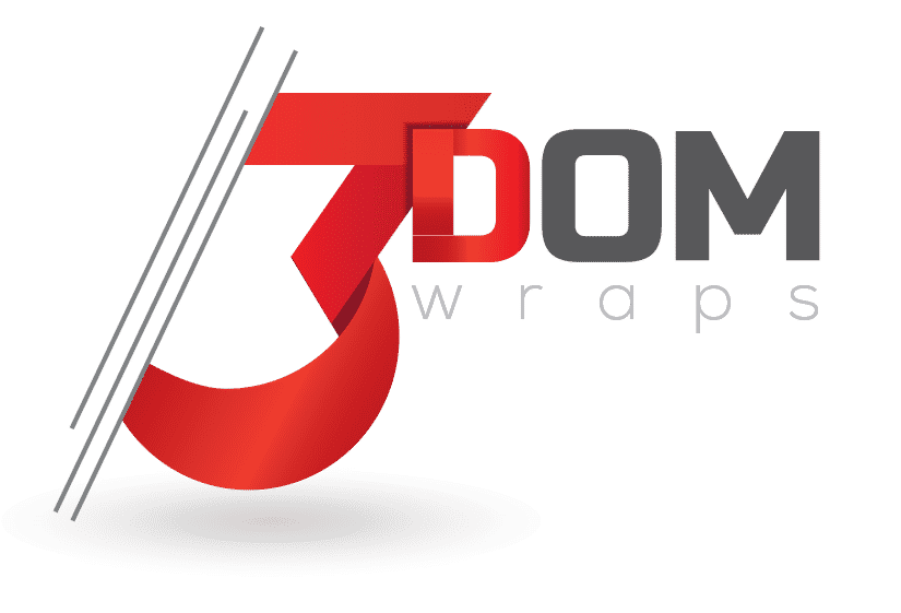 3Dom Wraps Logo Light