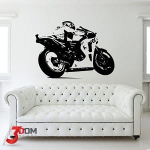 Vehicle Wall Art Decal - MotoGP | 3Dom Wraps