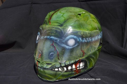 Vinyl Wrapping Helmet Examples Helmets MakeItStick - Vinyl wrap for motorcycle helmets