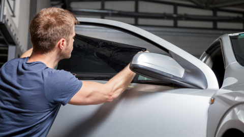 How To Install Car Window Tinting Film