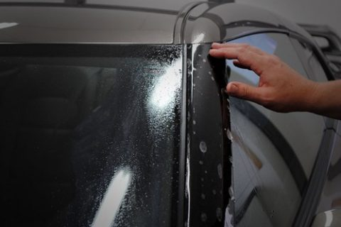 Paint protection film application process