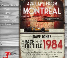 Classic Motorsport customisable sign art – Montreal