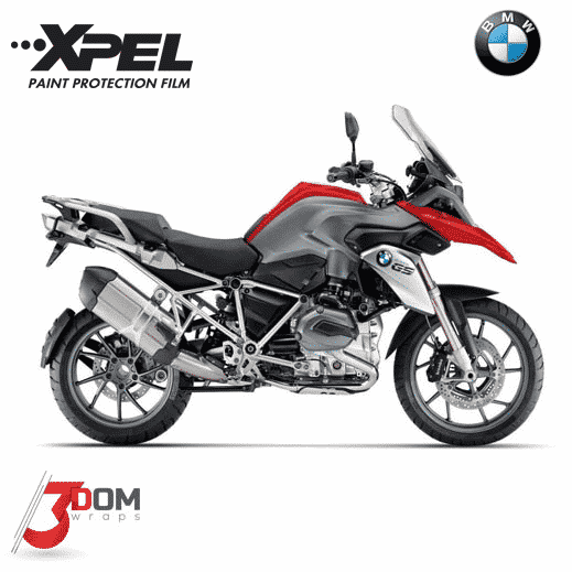 BMW R1200 GS 2015 Full Xpel Paint Protection Kit