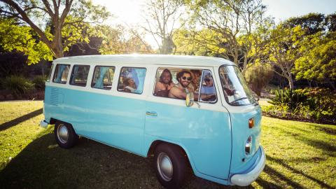 Why Van Hire Is Perfect for Trips with Friends